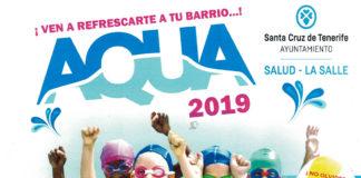 """Cartel """"Fiesta Aqua 2019"""""""
