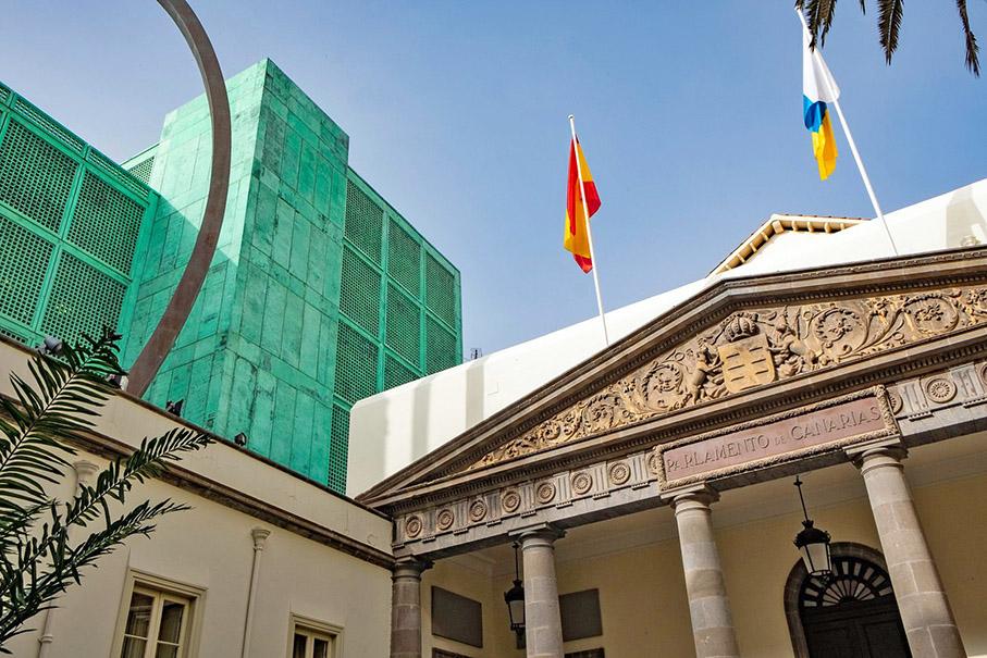 Parlamento de Canarias: Hoy, Mesa del Parlamento y Sesión Plenaria