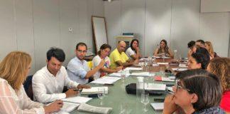 La consejera de Derechos Sociales, Igualdad, Diversidad y Juventud del Gobierno de Canarias mantuvo hoy un encuentro con los representantes de las áreas de Bienestar Social insulares