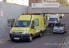 Ambulancia del SUC en el HUNSC