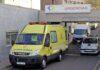 Ambulancia del SUC en Urgencias en el HUNSC.