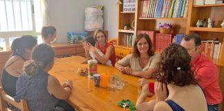 Marta Arocha en el piso de emergencia social