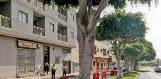 Visita técnicos, edificio El Fraile