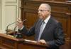 Casimiro Curbelo, portavoz en el parlamento de ASG. Cedida. NOTICIAS 8 ISLAS.