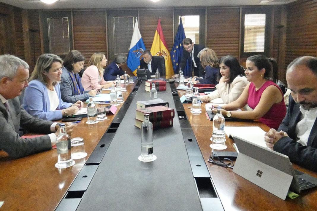 Consejo de Gobierno celebrado este jueves en Las Palmas de Gran Canaria