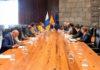 Un momento de la reunión mantenida entre Presidencia y los Ayuntamientos turísticos. Cedida. NOTICIAS 8 ISLAS