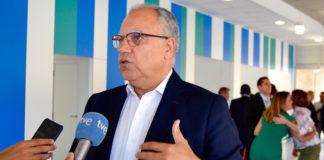 Casimiro Curbelo, portavoz de Agrupación Socialista Gomera (ASG) en el Parlamento de Canarias