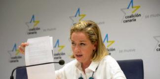 Ana Oramas, diputada nacional por CC-NC. Cedida. NOTICIAS 8 ISLAS.