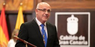 Antonio Morales Méndez, presidente del Cabildo de Gran Canaria