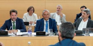 Carlos Alonso en una intervención en el pasado pleno