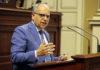 Casimiro Curbelo, portavoz de ASG en el Parlamento. Cedida. NOTICIAS 8 ISLAS.