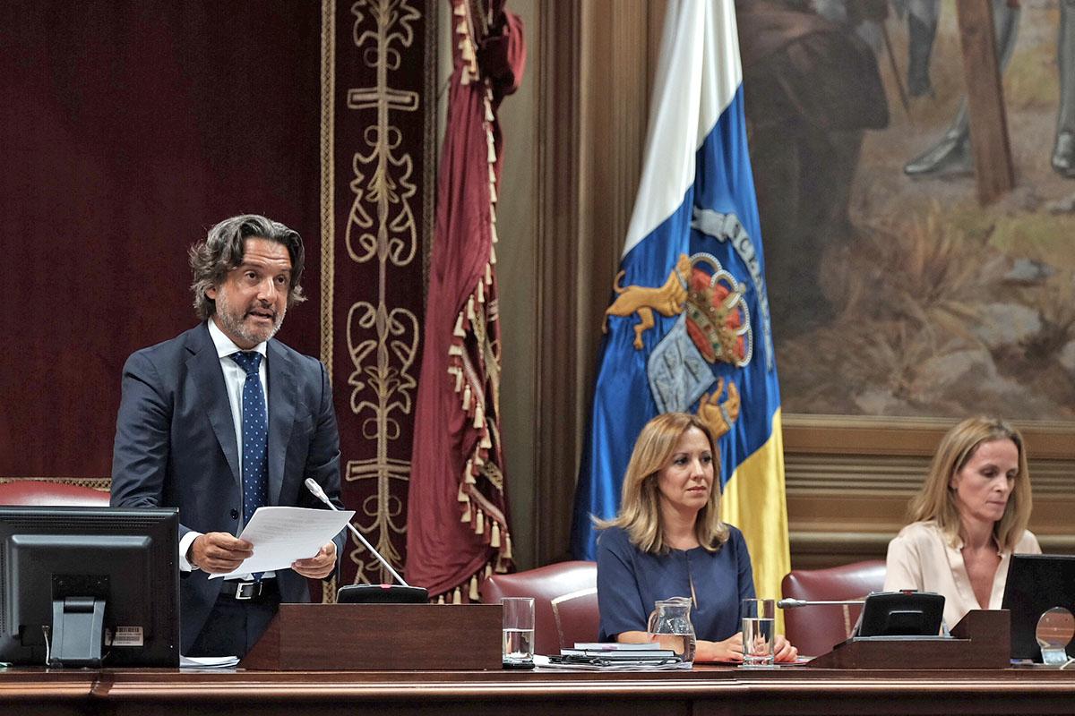 Parlamento de Canarias: hoy, Comisión de Hacienda, Presupuestos y Asuntos Europeos