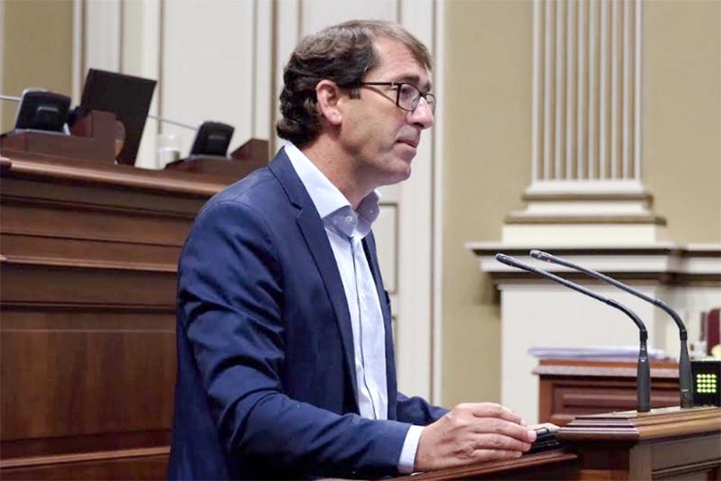 EIñaki Lavandera, portavoz adjunto del Grupo Parlamentario Socialista. Cedida. NOTICIAS 8 ISLAS.