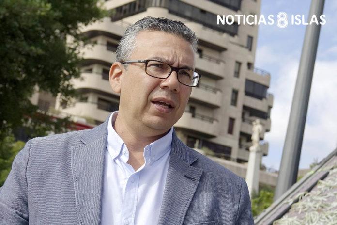 Dámaso Arteaga, concejal de CC-PNC en el Consistorio. Manuel Expósito. NOTICIAS 8 ISLAS.