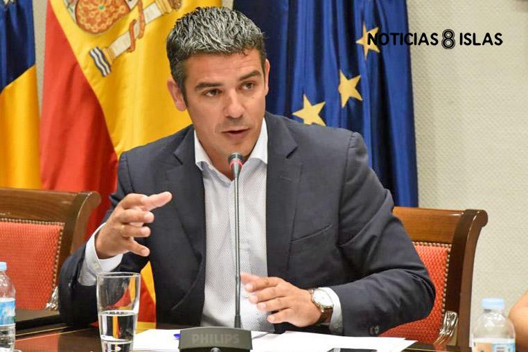 Narvay Quintero, diputado y portavoz adjunto del Grupo Nacionalista Canario. Manuel Expósito. NOTICIAS 8 ISLAS.