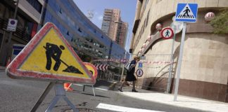 Obras Calle Buenos Aires, S/C de Tenerife./ © Manuel Expósito.
