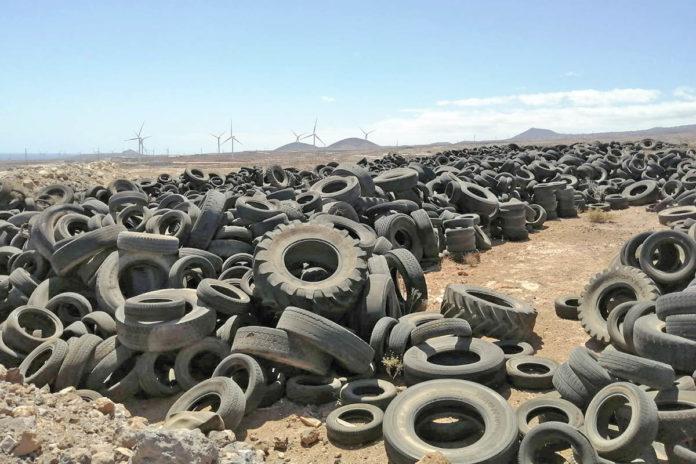 Cementerio de neumáticos, PIRS ./ Cedida.