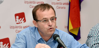 El concejal de Unidas Podemos Ramón Trujillo. Cedida. NOTICIAS 8 ISLAS