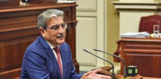 Román Rodríguez, vicepresidente y consejero de Hacienda, Presupuestos y Asuntos Europeos del Gobierno de Canarias. Cedida. NOTICIAS 8 ISLAS.