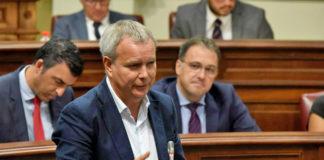 Sebastián Franquis, consejero de Obras Públicas, Transportes y Vivienda del Gobierno de Canarias. Cedida. NOTICIAS 8 ISLAS.