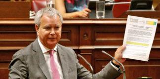 Sebastián Franquis, consejero de Obras Públicas, Transporte y Vivienda. Cedida. NOTICIAS 8 ISLAS