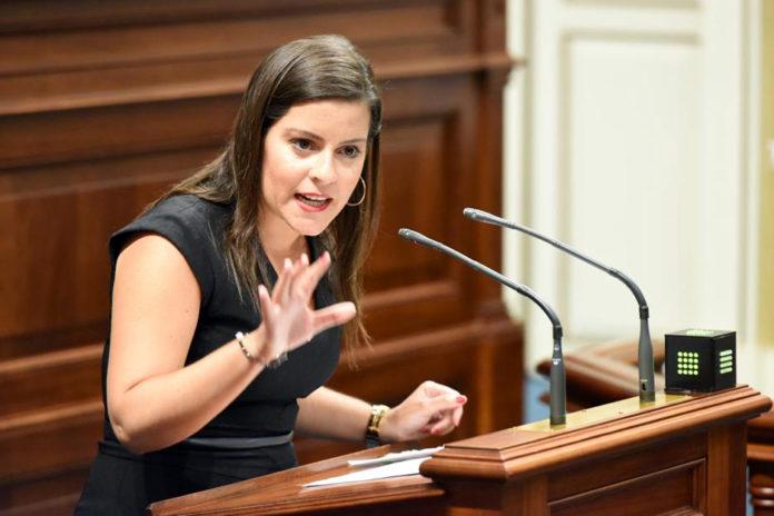 Yaiza Castillo, consejera de Turismo, Industria y Comercio del Gobierno de Canarias. Cedida. NOTICIAS 8 ISLAS.