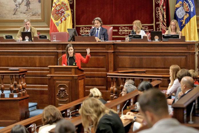 Yaiza Castilla, consejera de Turismo, Industria y Comercio del Gobierno de Canarias. Cedida. NOTICIAS 8 ISLAS