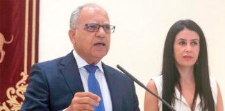 Casimiro Curbelo y Melodie Mendoza, diputados por ASG en el Parlamento de Canarias. Cedida. NOTICIAS 8 ISLAS