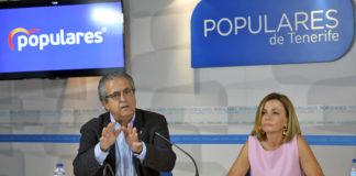 Ana Zurita y Antonio Alarcó , Diputada y Senador por el PP de Canarias. Cedida. NOTICIAS 8 ISLAS