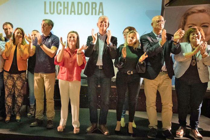Momento del cierre del acto en La Orotava. Cedida. NOTICIAS 8 ISLAS.