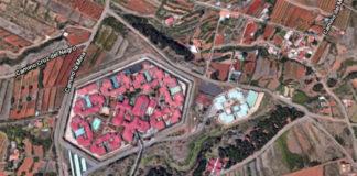 Vista aérea del Centro Penitenciario Santa Cruz de Tenerife II. Google. NOTICIAS 8 ISLAS