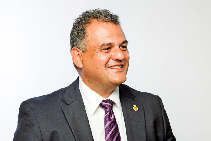 José Alberto Díaz, secretario general de CC en La Laguna y portavoz del grupo nacionalista en el Ayuntamiento de La Laguna. Cedida. NOTICIAS 8 ISLAS.