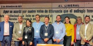 La concejala Luz Goretti Gorrín como representante de Santiago del Teide en directiva Amuparna. Cedida. NOTICIAS 8 ISLAS