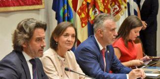 Reunión informativa celebrada en el Parlamento de Canarias. Cedida. NOTICIAS 8 ISLAS
