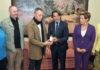 Representación de la Fundación Pedro Zerolo recibida por el Presidente. Cedida. NOTICIAS 8ISLAS