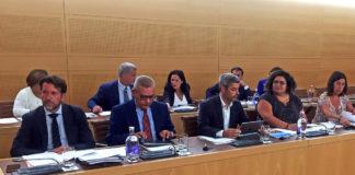Un momento de la sesión del Pleno del día de hoy. Cedida. NOTICIAS 8 ISLAS