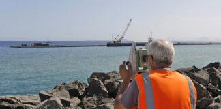Obras del futuro puerto de Playa Blanca. Cedida. NOTICIAS 8 ISLAS