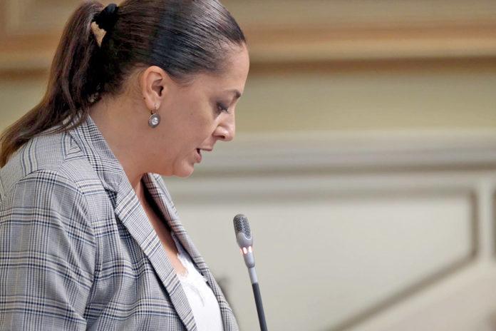 Nereida Calero, diputada del Grupo Nacionalista Canario. Cedida. NOTICIAS 8 ISLAS.