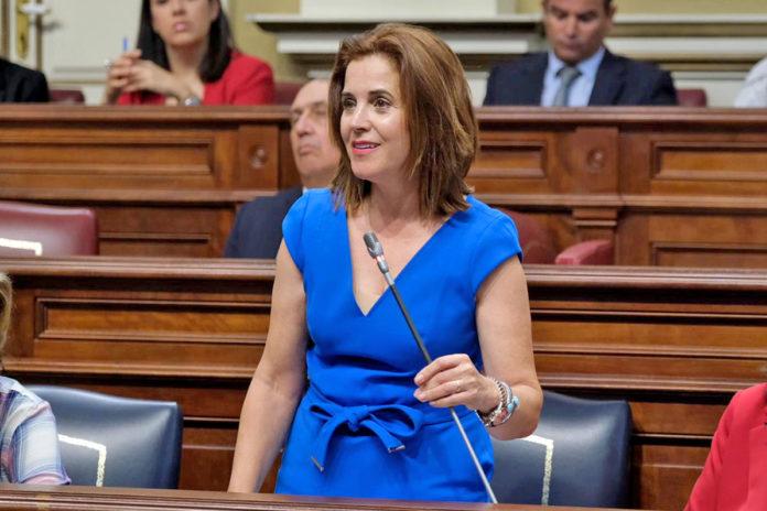 Teresa Cruz, consejera de Sanidad del Gobierno de Canarias. Cedida. NOTICIAS 8 ISLAS.