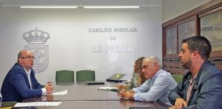 El consejero de Medio Ambiente del Cabildo de La Palma, Borja Perdomo. Cedida. NOTICIAS 8 ISLAS.