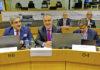 El jefe del Ejecutivo canario, Ángel Víctor Torres, acompañado por el vicepresidente, Román Rodríguez. Cedida. NOTICIAS 8 ISLAS.