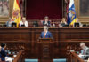 Pleno de debate de las Enmiendas a los Presupuestos. Cedida. NOTICIAS 8 ISLAS.
