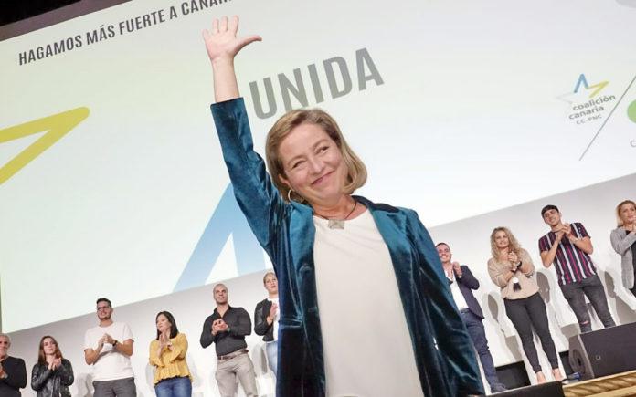 La candidata de CC-PNC-NC al Congreso de los Diputados por la provincia de Santa Cruz de Tenerife, Ana Oramas. Cedida. NOTICIAS 8 ISLAS.