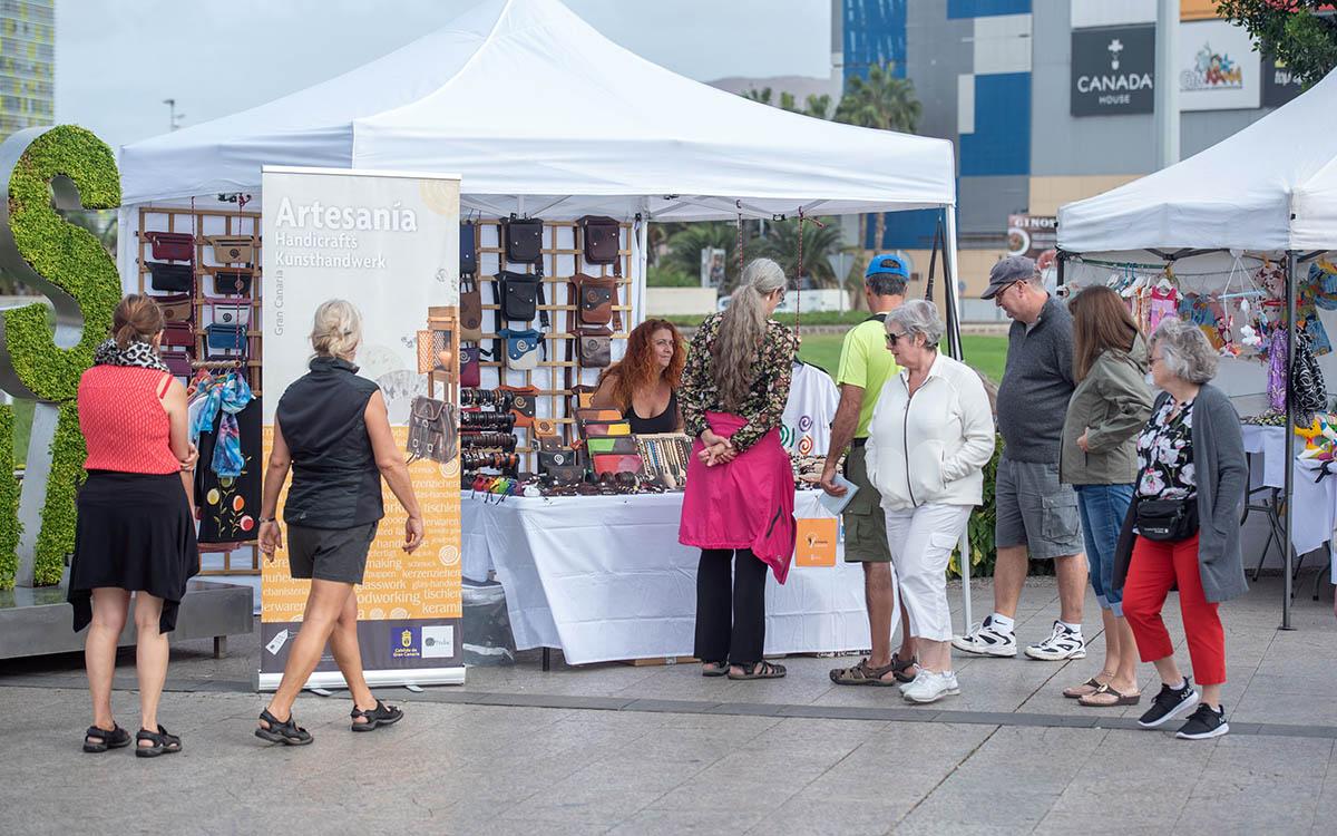 Las Palmas apoya las zonas comerciales y la creación artística gracias a una iniciativa del PP