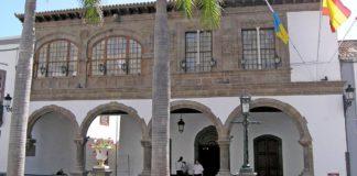 Fachada del Ayuntamiento de Santa Cruz de La Palma. Cedida. NOTICIAS 8 ISLAS.