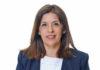 La presidenta del grupo parlamentario de Nueva Canarias (NC), Carmen Hernández. Cedida. NOTICIAS 8 ISLAS.