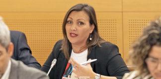 Diana Mora, La consejera nacionalista. Cedida. NOTICIAS 8 ISLAS.