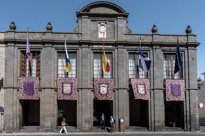 Fachada Ayuntamiento de La Laguna. Cedida. NOTICIAS 8 ISLAS.