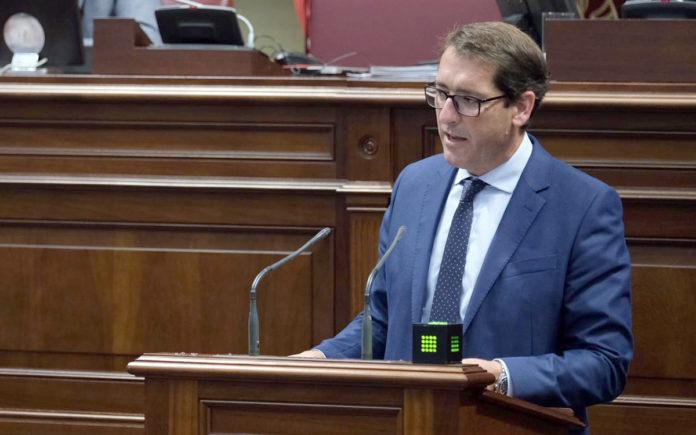 Iñaki Lavandera, portavoz adjunto del Grupo Parlamentario Socialista. Cedida. NOTICIAS 8 ISLAS.