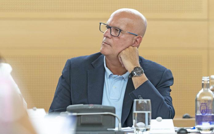 El portavoz adjunto de CC-PNC, José Manuel Pitti. Cedida. NOTICIAS 8 ISLAS.